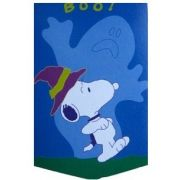 Snoopy Scare Applique Garden Flag, #03627