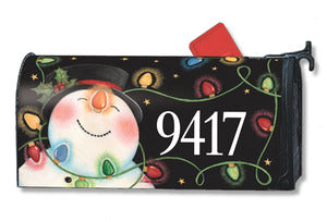 Headlights Standard Size Mailbox Cover, #04073