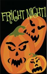 Fright Night Garden Flag,  #16647