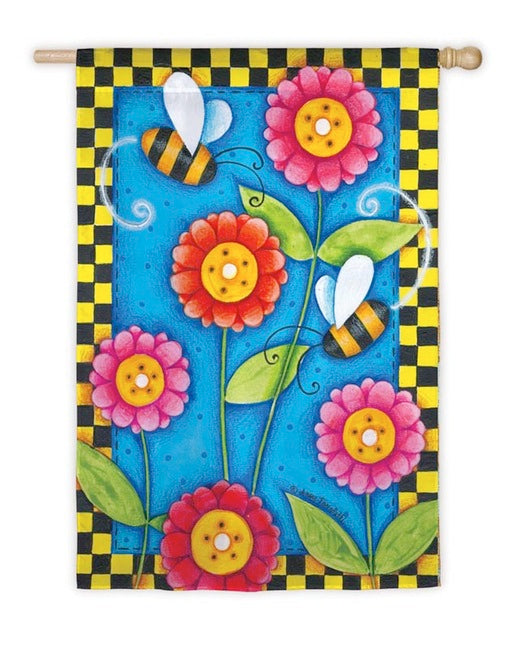 Busy Bee House Flag, #131533
