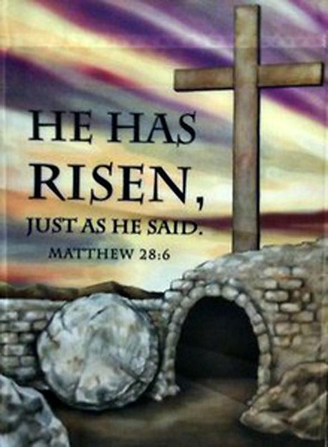 He Has Risen House Flag, #131586