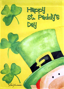Happy St. Paddy's Day Garden Flag,  #ddsp0002g