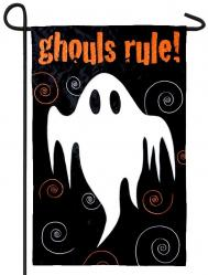 Ghouls Rule House Flag, #151226