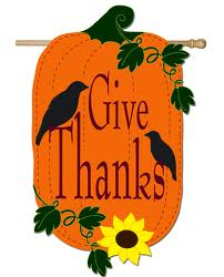 Give Thanks Garden Flag,  #161021