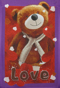Love Bear Garden Flag,  #csvd0004g