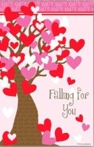 Falling for You Garden Flag,  #ddvd0004g