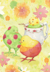 Dipped Chicks Garden Flag,  #0273fm