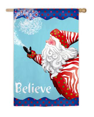 Believe in Santa House Flag, #131207