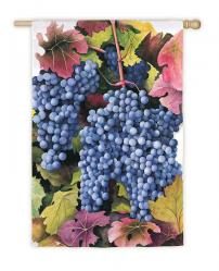 Grapes Garden Flag,  #14371
