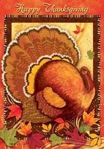 Thanksgiving Turkey House Flag, #131s802