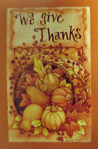 We Give Thanks Garden Flag,  #n1hb13002g