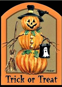 Trick or Treat Garden Flag, #F4HB12004G