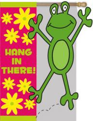 Hang in There Applique House Flag, #151282