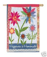 Happiness is Homemade Garden Flag,  #141083
