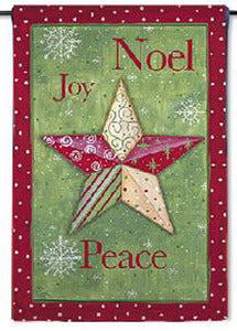 Christmas Peace Garden Flag,  #141s838