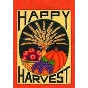 Happy Harvest Garden Flag, #0131fm