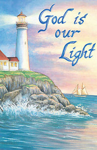 God Is Our Light Garden Flag,  #9238fm