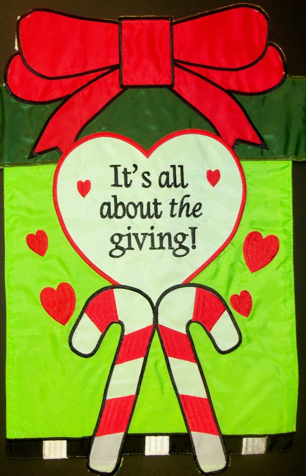 It's All About the Giving Garden Flag,  #168104