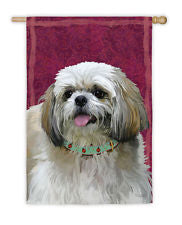Shih Tzu House Flag,  #132274