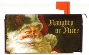 Santa's List Standard Size Mailbox Cover, #56206