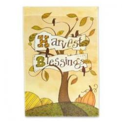 Harvest Blessings Garden Flag,  #141165
