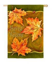 Harvest Welcome House Flag, #131449