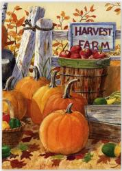 Harvest Farm Garden Flag,  #14736