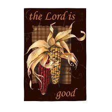 The Lord is Good Garden Flag,  #14s2567