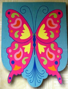 Butterfly Free Form Garden Flag, #644619