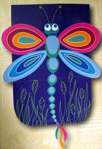 Dragonfly Free Form Garden Flag, #644620