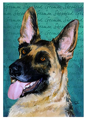 German Shepherd Garden Flag, #644680
