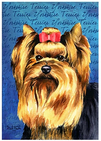 Yorkshire Terrier House Flag, #645691