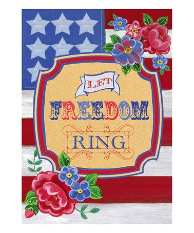 Let Freedom Ring Garden Flag,  #14s3034gc
