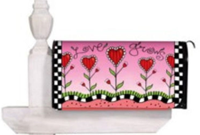 Love Grows Standard Size Mailbox Cover, #56087