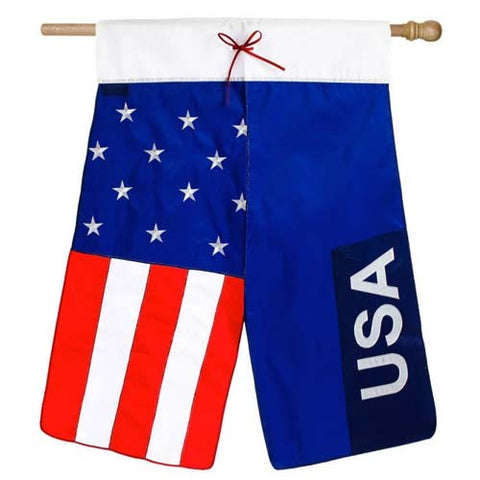 America Pants Applique House Flag,  #158198