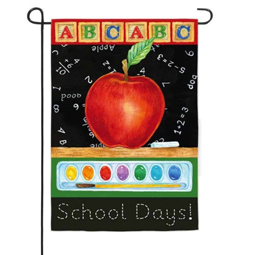 Big Apple School Days Garden Flag,  #14s2562