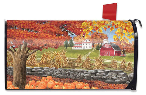 Autumn Day Standard Size Mailbox Cover, #M00501