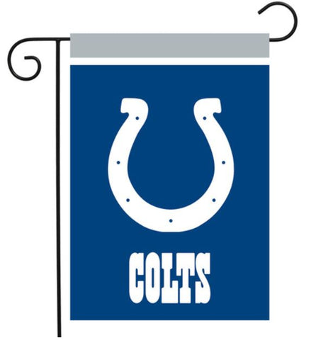 "Indianapolis Colts Garden Flag 12.5"" x 18"""