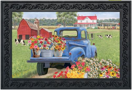 Day on the Farm Doormat D00781
