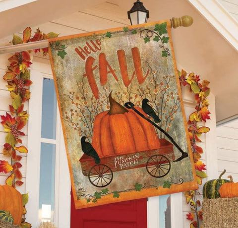 Prized Pumpkin House Flag H00712