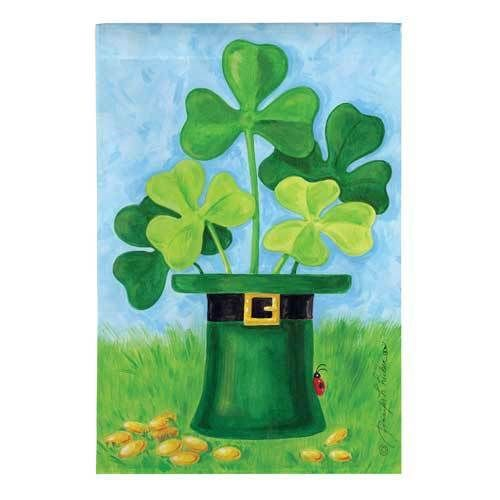 Shamrock Hat House Flag, #131616