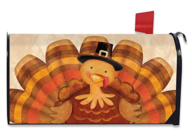 Thanksgiving Turkey Standard Size Mailbox Cover M01304
