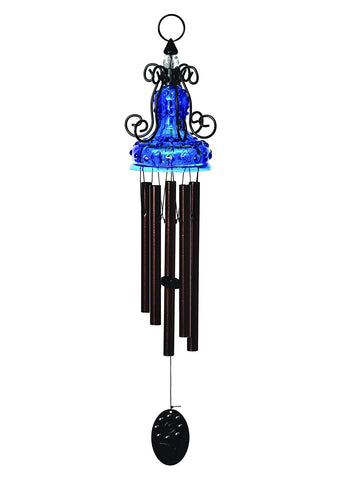 Blue Antique Wind Chime, #WC130150