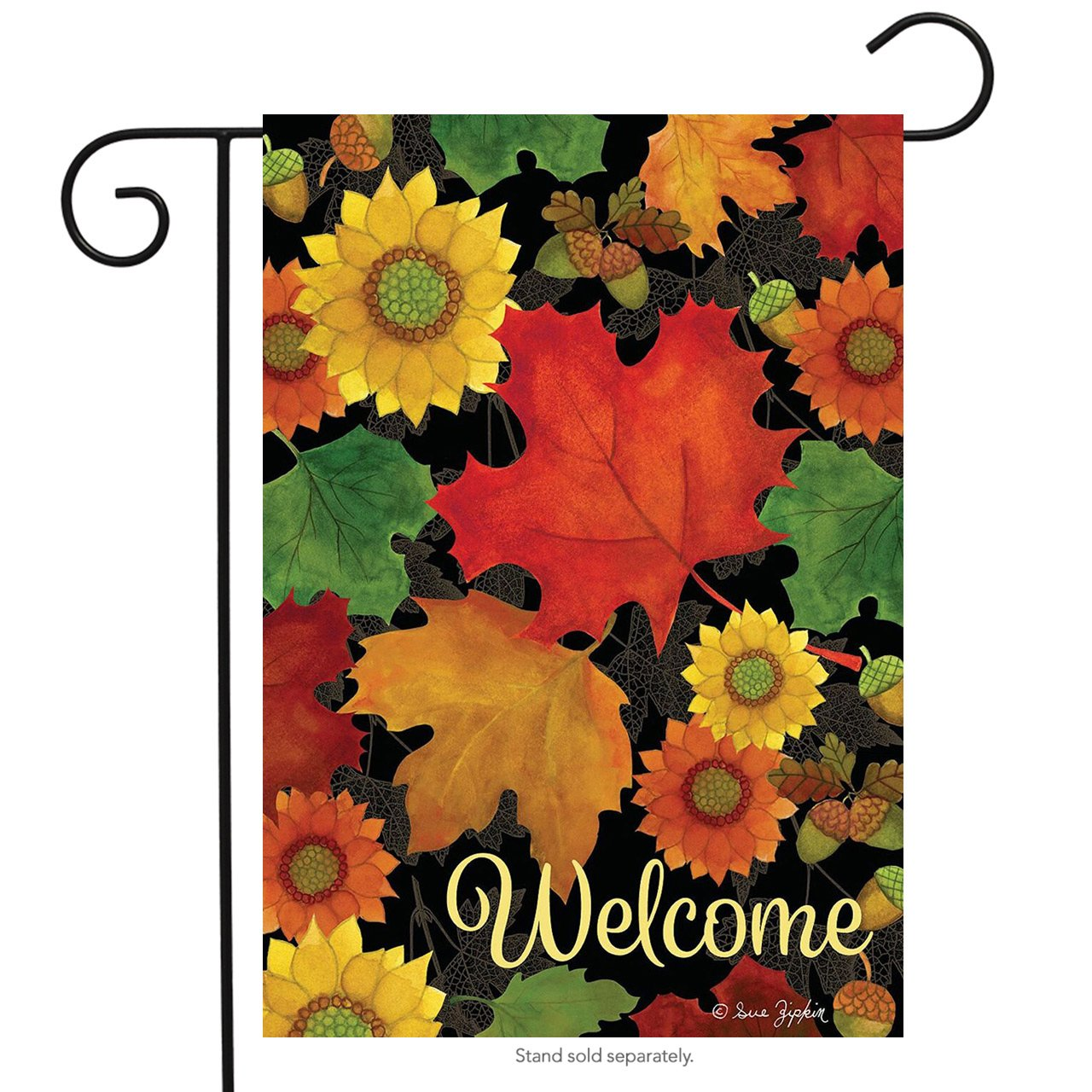 Fall Foliage Garden Flag, #G00491
