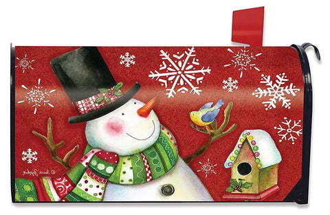 Frosty Friends Standard Size Mailbox Cover, #M00583