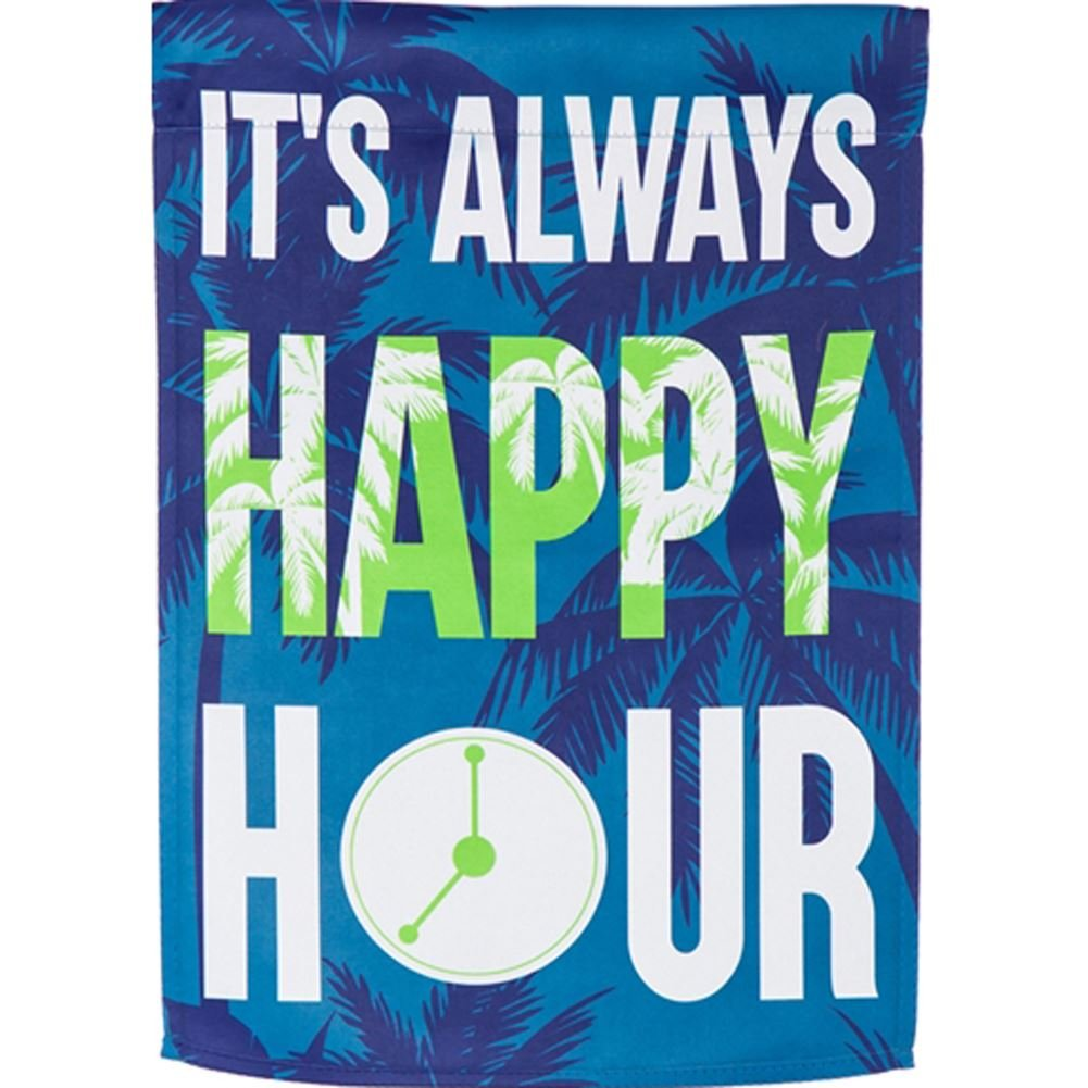 Happy Hour Garden Flag, #14S4897