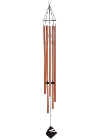 Majestic Princess Wind Chime, Bright Copper, #WC131102