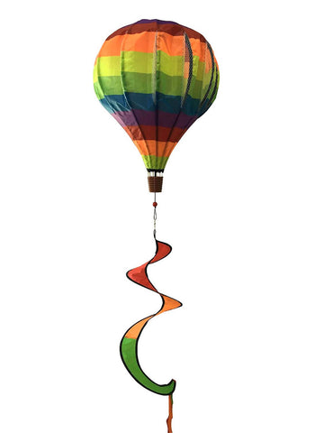 Rainbow Deluxe Hot Air Balloon Twister, #W00033