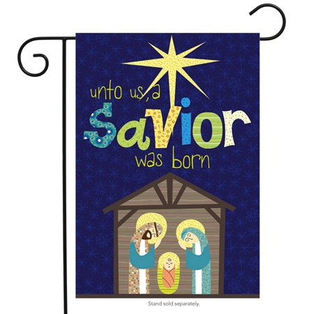 Savior Was Born Garden Flag,  #14s3207gc