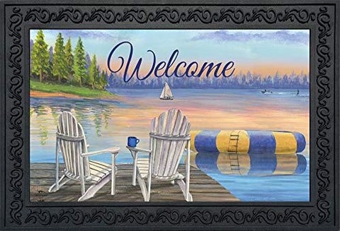 Waterfront Retreat Doormat, #D00787